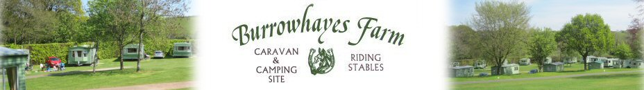Burrowhayes Farm - Caravan and Camping Site and Riding Stables